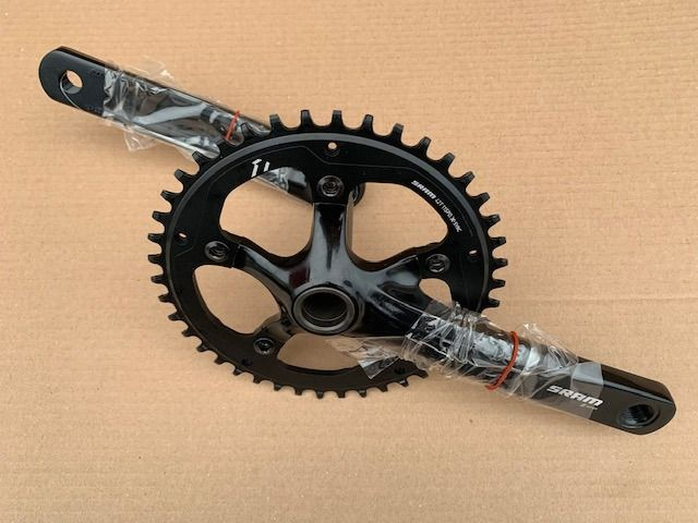SRAM S Series Single Speed GXP Chainset 170 mm 42T Fat/Thin 5 Bolt Ring EM2PMC